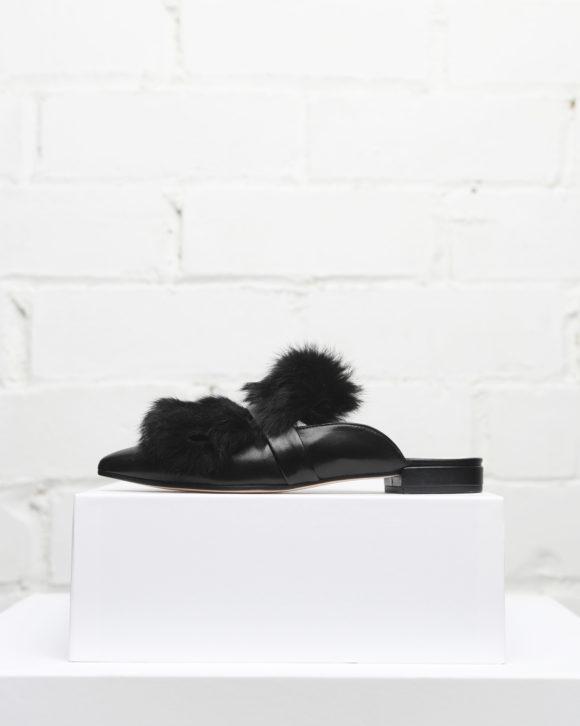 zapatos slippers mujer de Maria Albertin. Slippers modelo Harper