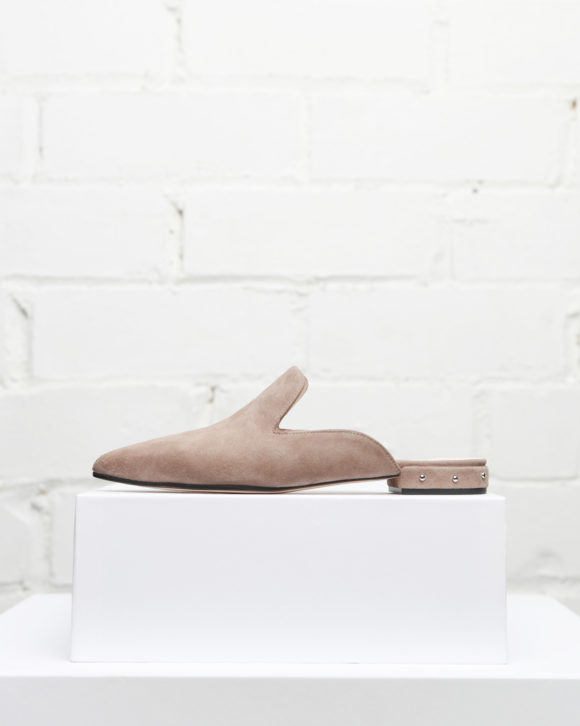 Zapatos slippers mujer Maria Albertin. Zapatos de piel online.